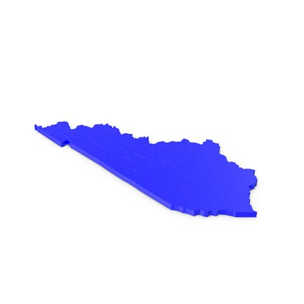 Карта округов Кентукки