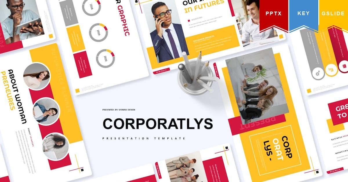 Download Corporatlys | Presentation Template by Vunira