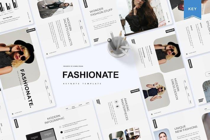 Fashionate | Шаблон Keynote