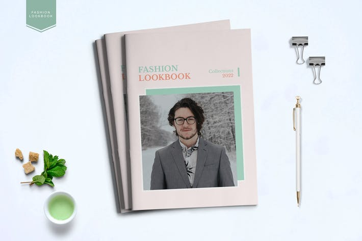 Thumbnail for Fashion Lookbook Template