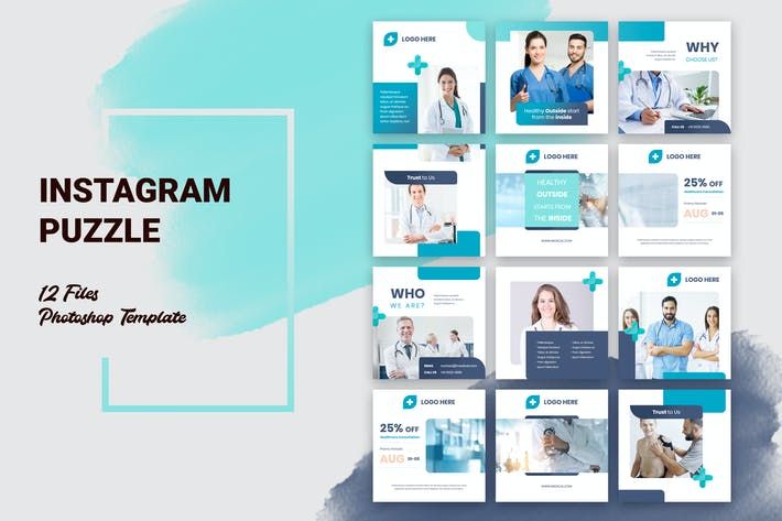 Thumbnail for Instagram Puzzle Medical