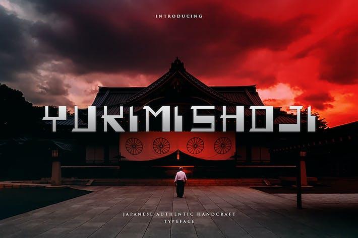 Thumbnail for Yukimi Shoji - Authentic Japanese Typeface