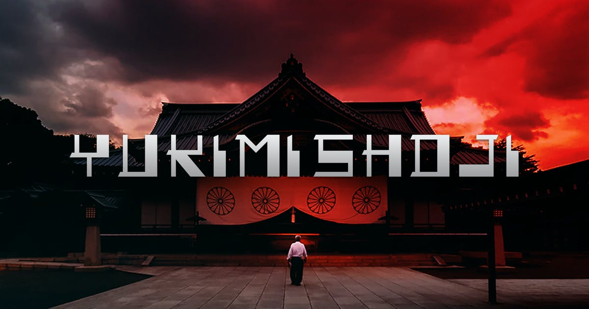 Download Yukimi Shoji - Authentic Japanese Typeface by naulicrea