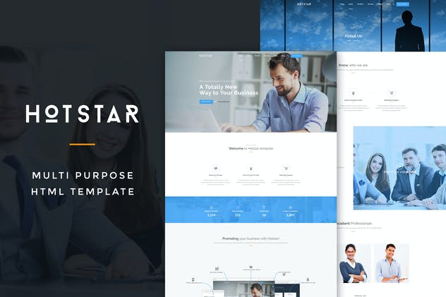 HotStar – Multi-Purpose HTML5 Template