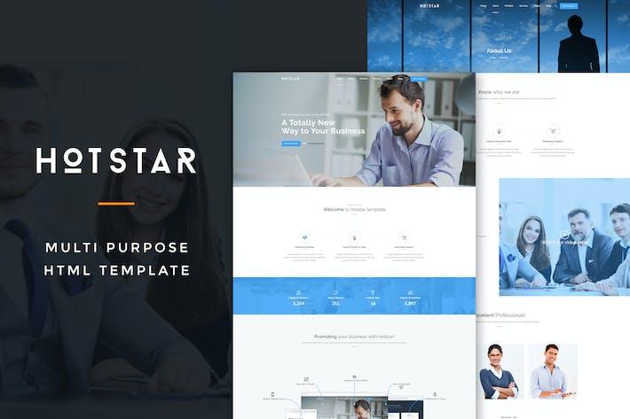 Thumbnail for HotStar – Multi-Purpose HTML5 Template