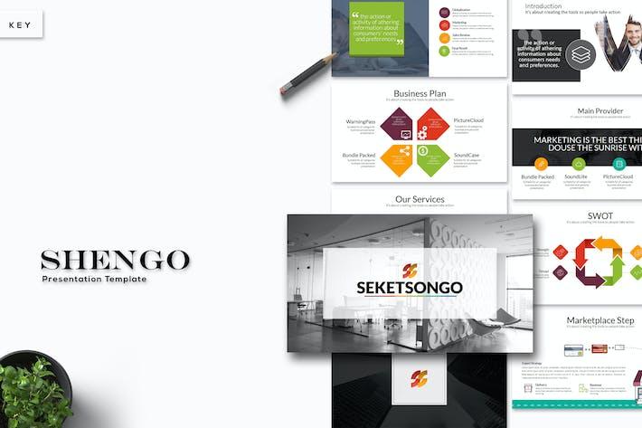 Thumbnail for Shengo - Keynote Template