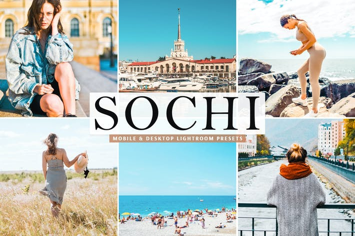 Thumbnail for Sochi Mobile & Desktop Lightroom Presets