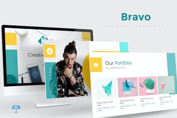 Thumbnail for Bravo - Keynote Template
