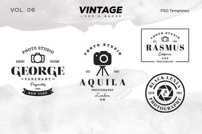 Thumbnail for Vintage Logo & Badge Vol. 6