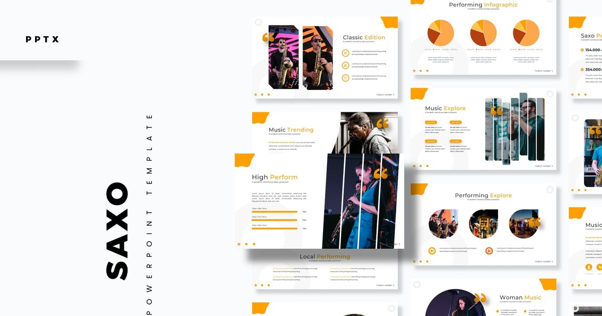 Download Saxo - Powerpoint Template by aqrstudio