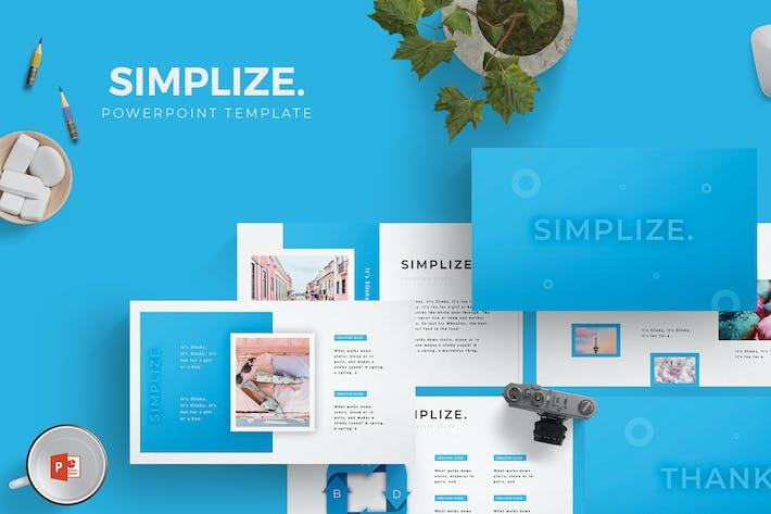 Simplize - Powerpoint Template