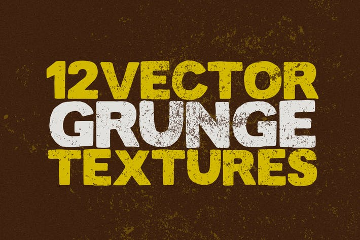 Thumbnail for Vector Grunge Textures x12