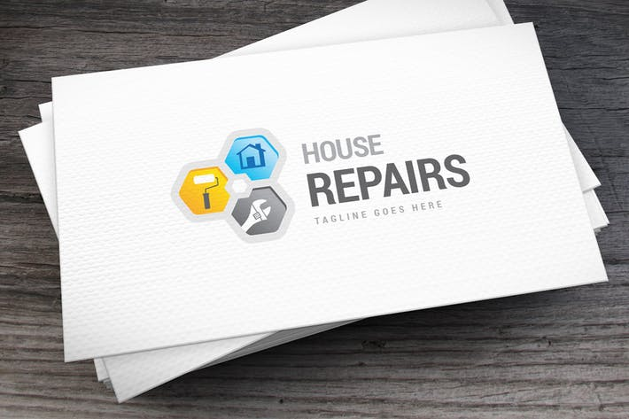 Thumbnail for House Repairs Logo Template