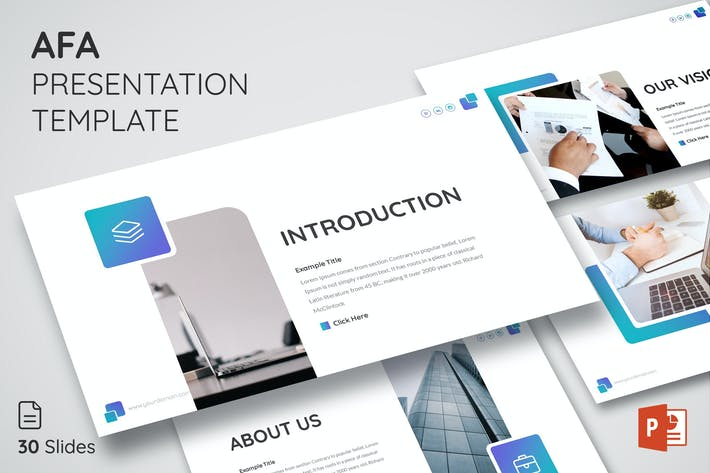 Thumbnail for Afa - Powerpoint Presentation Template