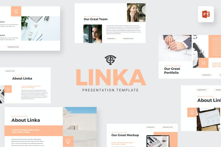 Thumbnail for Linka Corporate - Powerpoint