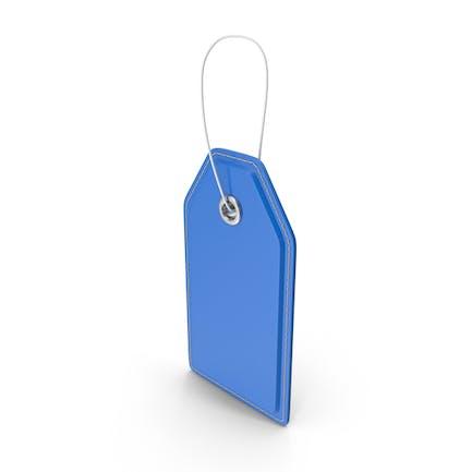 Price Tag Blue