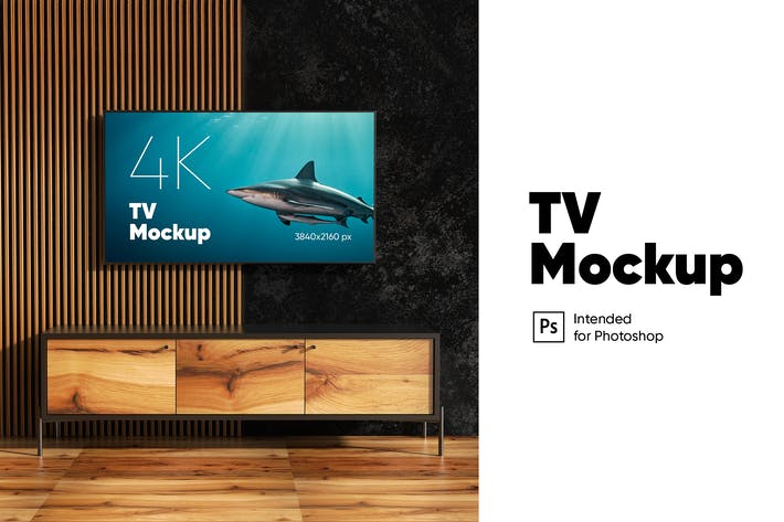 Cover Image For TV Mockup