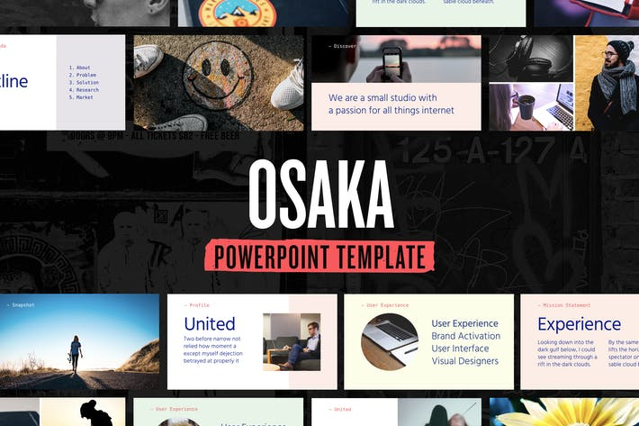 Thumbnail for Osaka — Powerpoint Presentation Template