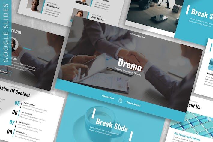 Thumbnail for Dremo - Business Google Slides Template