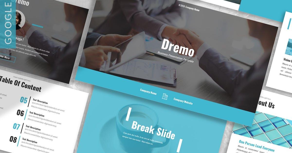 Download Dremo - Business Google Slides Template by 83des