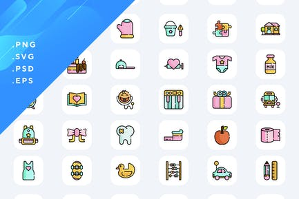 50 kindheit Icons