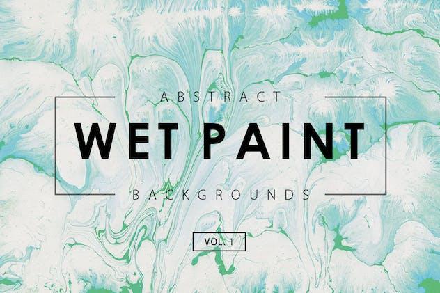 Wet Paint Backgrounds Vol. 1