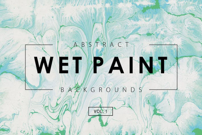 Thumbnail for Wet Paint Backgrounds Vol. 1