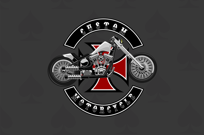 Thumbnail for Custom Bike - Vector Illustration
