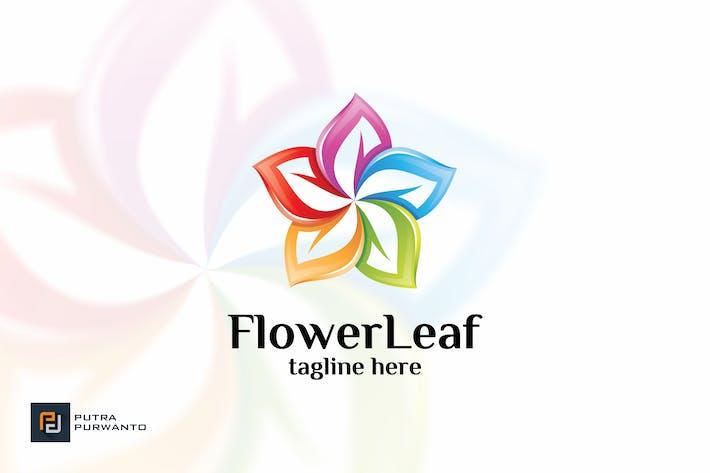 Thumbnail for Flower Leaf - Logo Template