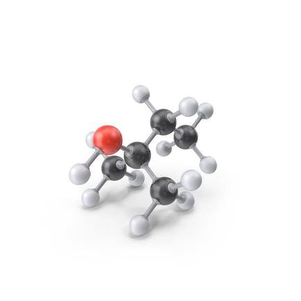 Tert Amyl Alcohol Molecule