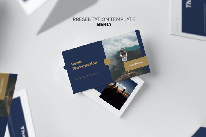 Thumbnail for Beria : Yoga Studio Powerpoint