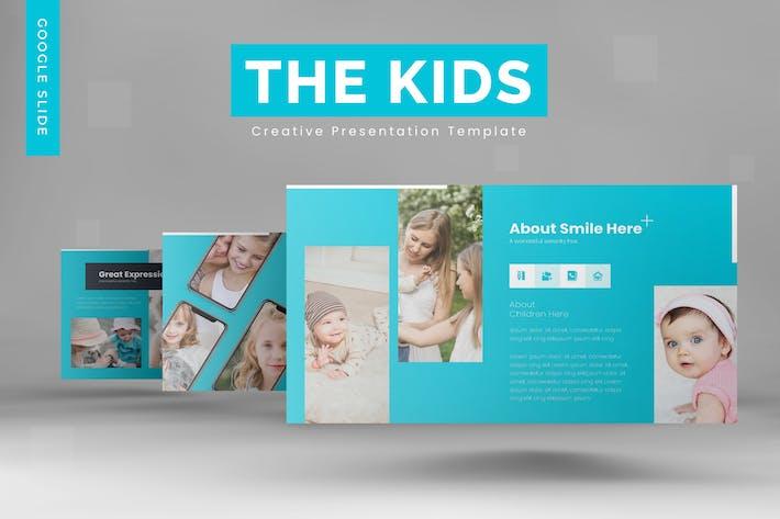 The Kids -  Google Slides Template