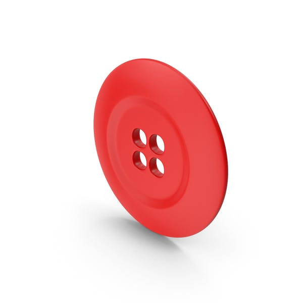 Ring Cloth Button Red