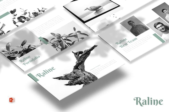 Thumbnail for Raline - Powerpoint Template