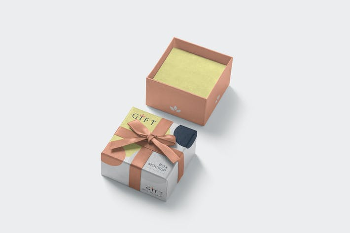 Thumbnail for Gift Box Mockups