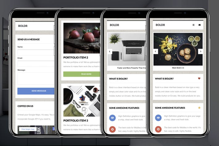 Thumbnail for Boldr Mobile | Google AMP & Classic Mobile Site