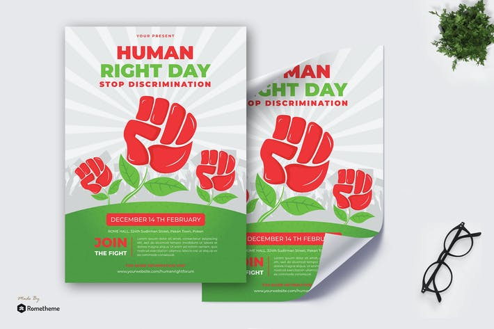 Thumbnail for Human Right Day - Poster KF