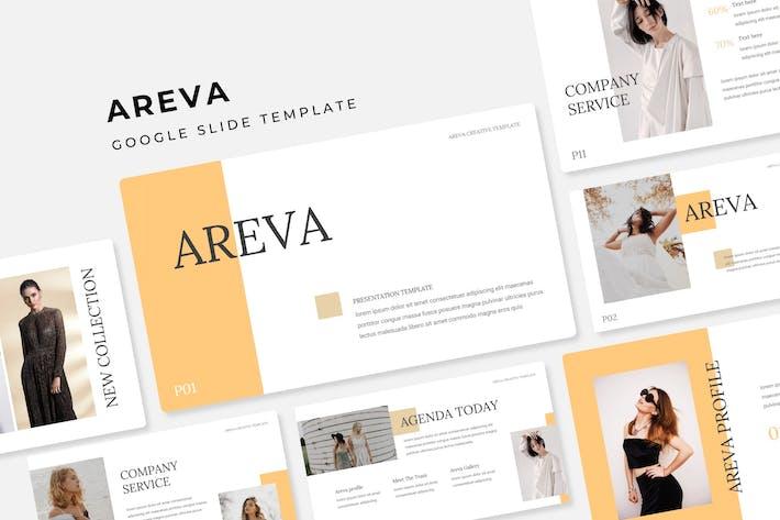 Thumbnail for Areva - Google Slide Template