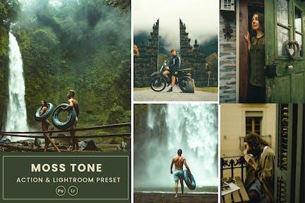Moss Tone Action & Lightrom Presets