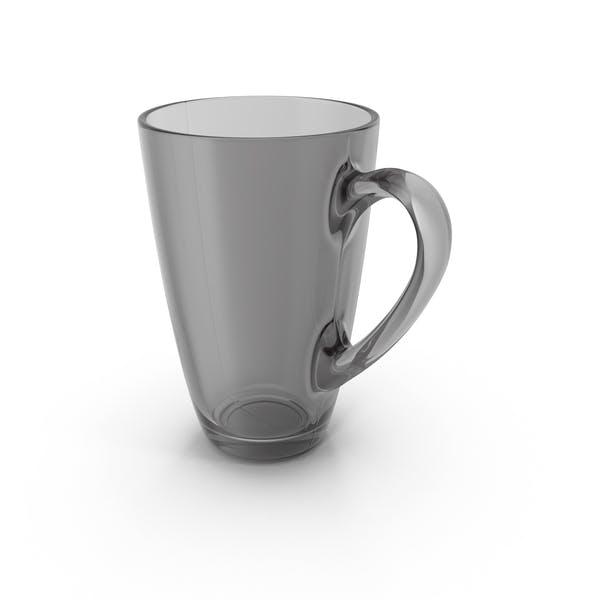 Black Glass Mug