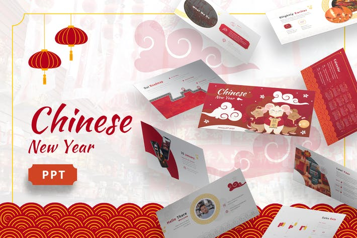 Thumbnail for Chinese New Year - Imlek Powerpoint Template