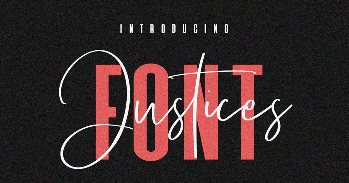 Download Justices Font by maulanacreative