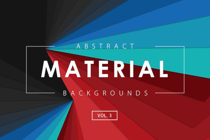 Thumbnail for Material Design Backgrounds Vol. 3