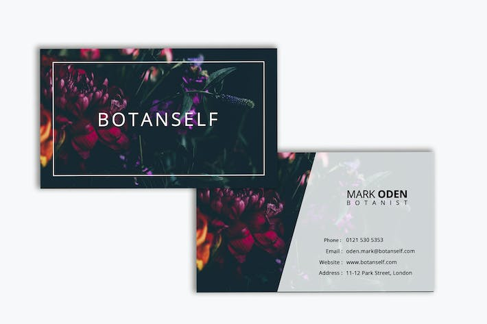 Thumbnail for Botanical Business Card