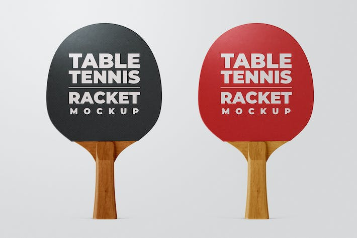 Thumbnail for Ping Pong Racket Mock-Up Template