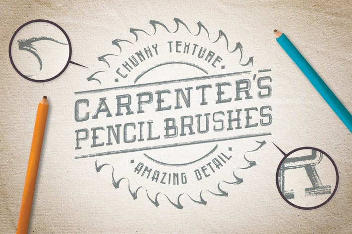 Thumbnail for Carpenter's Pencil Brushes