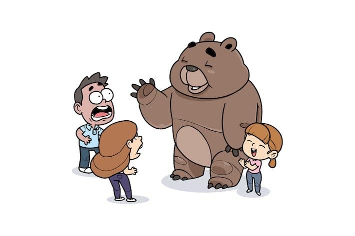 Thumbnail for Приветствие медведя - Персонаж RG