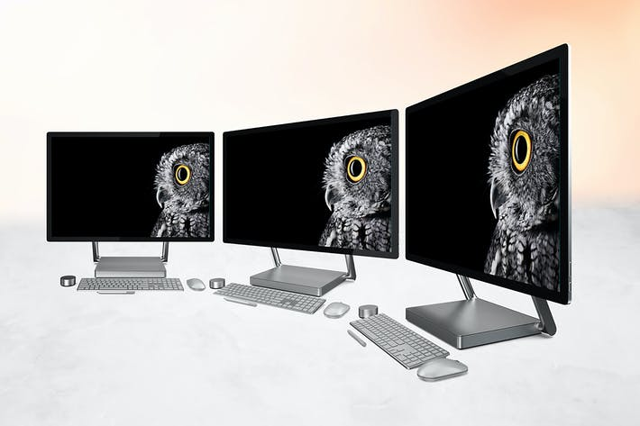 Cover Image For Surface Studio Mockup