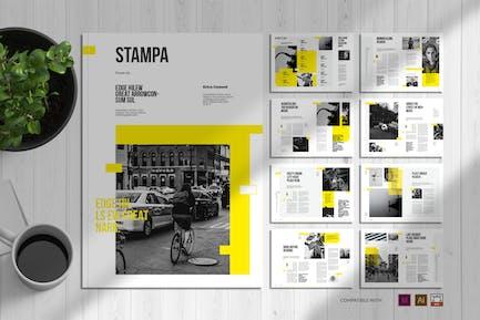 Stampa   Magazine Template