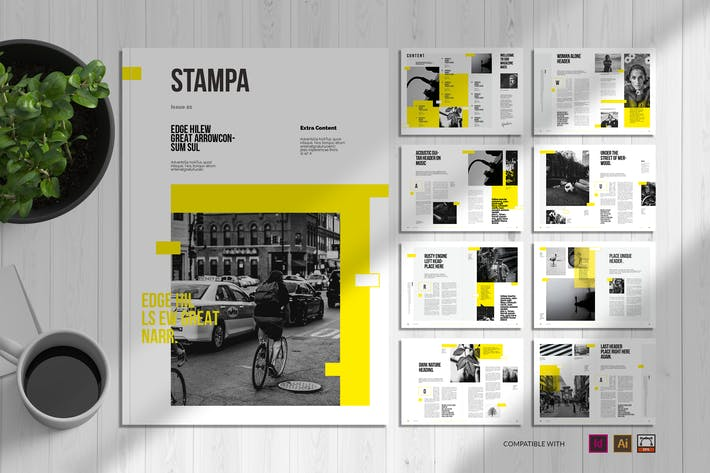 Thumbnail for Stampa | Magazine Template